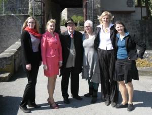 Valdybos narės svečiuose pas Lietuvos garbės konsulą Baden-Wünterberg žemėje grafą von Stetten