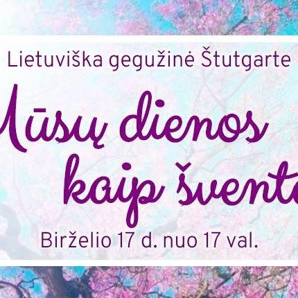Lietuviška gegužinė Štutgarte
