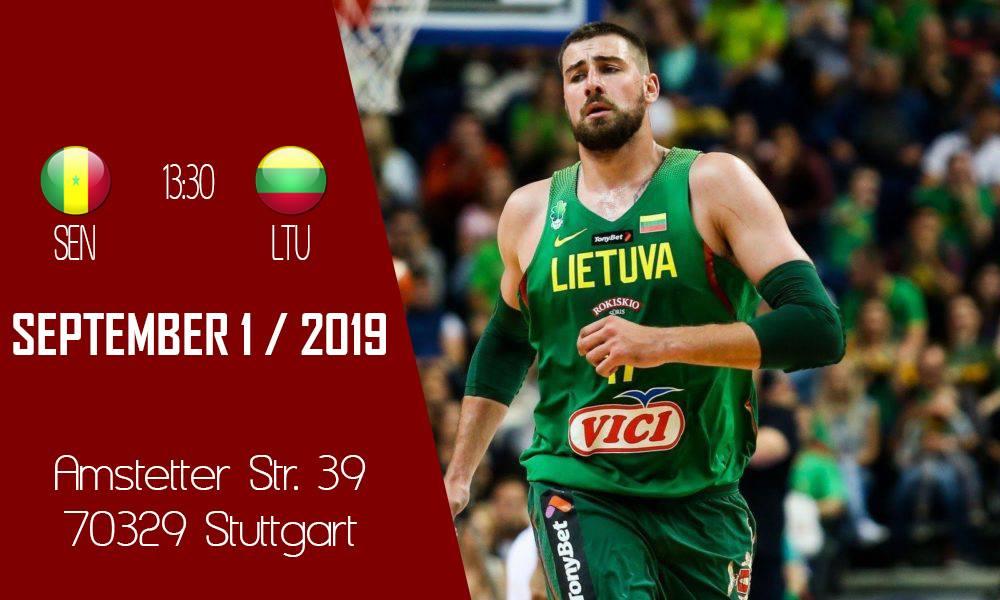 Pasaulio krepšinio čempionatas Štutgarte su L-Team komanda