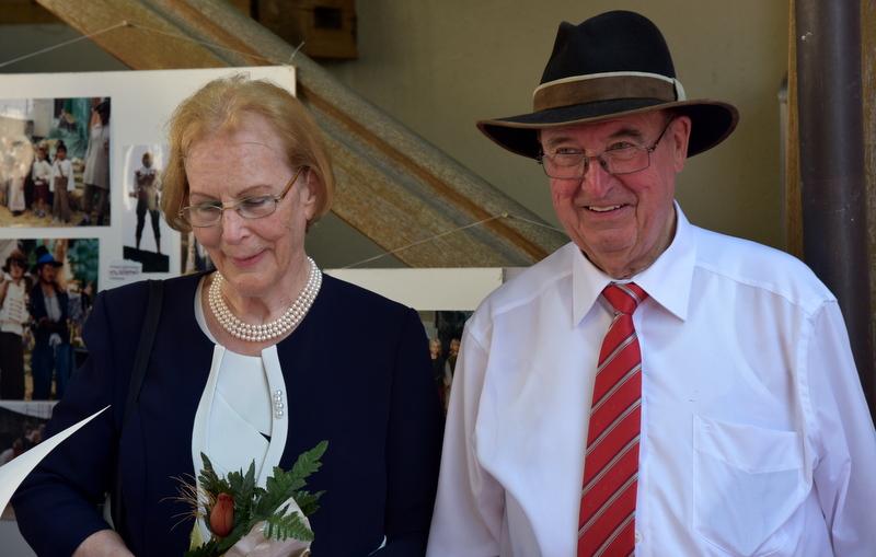 Prof. dr. Volfgangas fon Štetenas su mylima žmona atšventė auksines vestuves